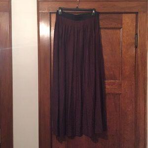Ann Taylor Loft long skirt